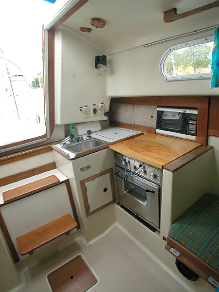 Pearson 33 galley