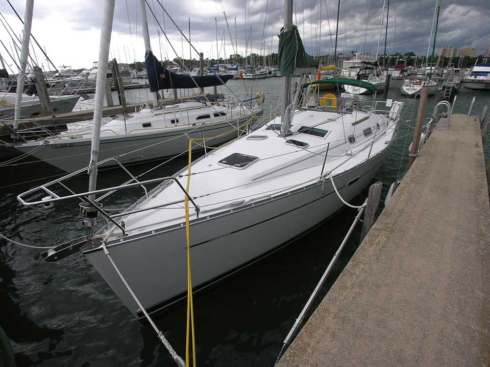 Beneteau 343 for sale by Jan Guthrie Yacht Brokerage