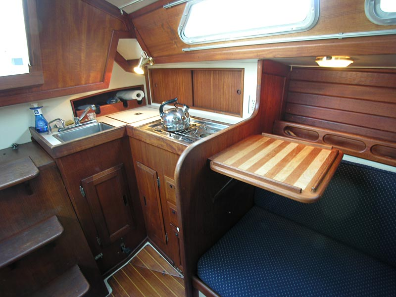 Ericson 28 for sale - great galley