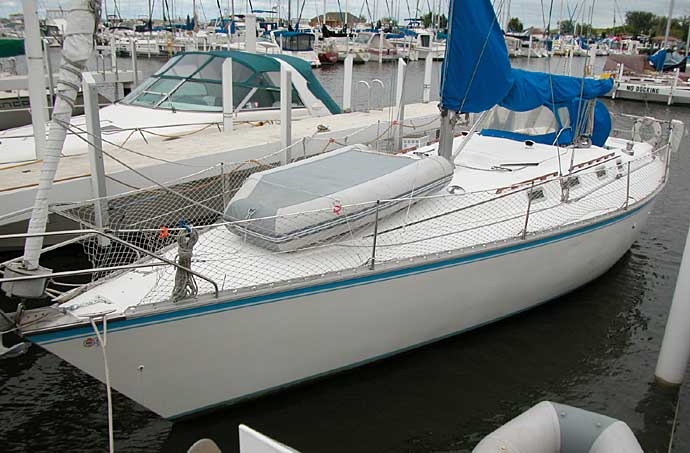 Hunter 40 sailboat