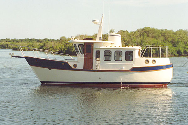 Legacy trawler waiting for you